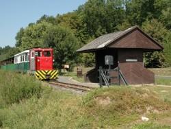 Lenti-Csömödér-Kistolmács Waldschmalspurbahn Csömödér