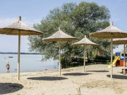 Pláž Gyenesi Lidóstrand Gyenesdias