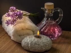 Entspannung mit Lavendel Heviz