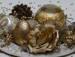 Weihnachten Gold Bükfürdö