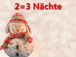 Winterliche Aktion 2=3 Hegykő